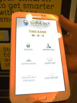 Edulock app makes you kid work for screen time